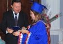 Первые выпускники магистратуры Академии наук Республики Таджикистан